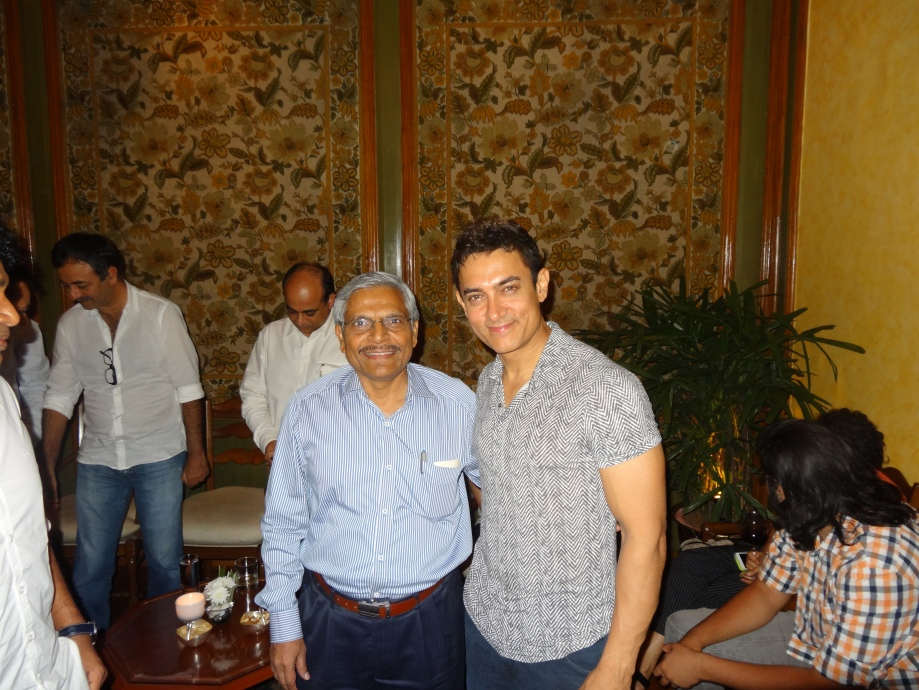 with Aamir Khan